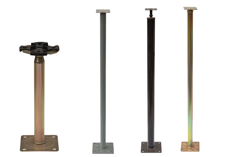 Adjustable Raised Floor Accessories Strong Raised Access Floor Pedestals